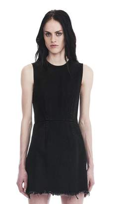 Alexander Wang ZIP DENIM DRESS