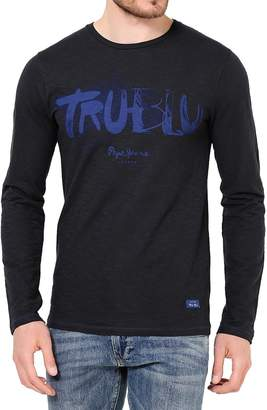 Pepe Jeans Men's Long Sleeve T-Shirt Reed - , L