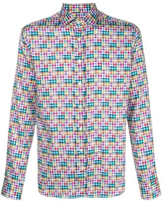 Etro New Warrant print shirt