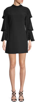 Alexis Marianne Tiered Sleeve Mini Dress