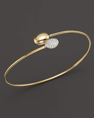 KC Designs Diamond Double Oval Bracelet in 14K Yellow Gold