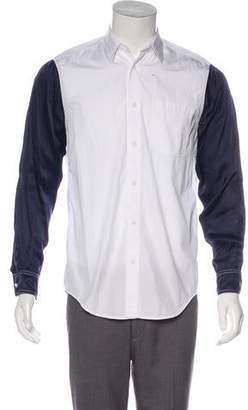 3.1 Phillip Lim Two-Tone Dress Shirt w/ Tags