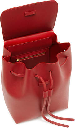 Mansur Gavriel Mini Saffiano Leather Backpack