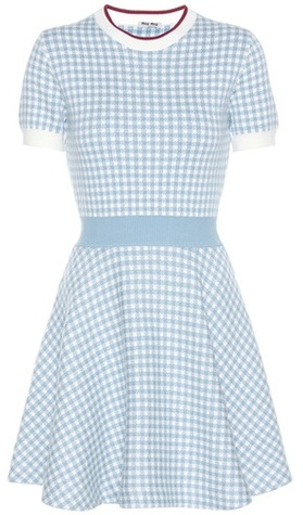 Miu MiuMiu Miu Knitted Cotton Dress