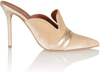 Malone Souliers Hayley Champagne Mule