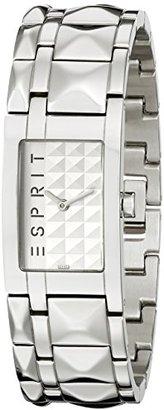 ESPRIT Women's ES102442004 Pure Silver Glam Rock Houston Classic Fashion Analog Wrist Watch $95 thestylecure.com
