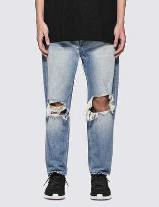 Stampd Wide Leg Cropped Jeans