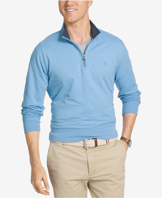 IZOD Men's Hampton Quarter-Zip Pullover $60 thestylecure.com