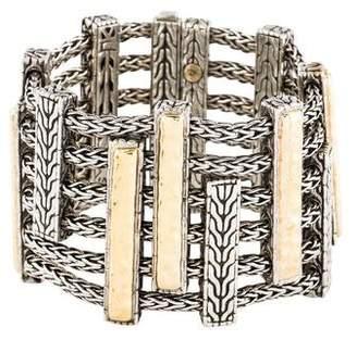 John Hardy Two-Tone Heritage Multi-Row Bracelet