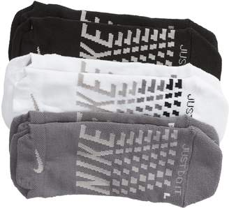 Nike 3-Pack Everyday Max Cushion Low-Cut Socks
