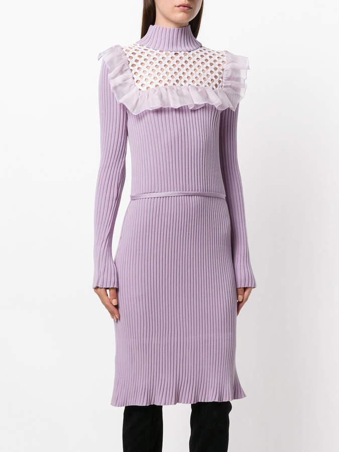 Giambattista Valli embroidered knitted dress
