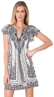 Hale Bob Callione Beaded Jersey Dress
