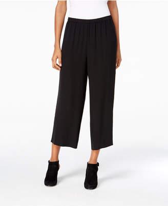 Eileen Fisher Silk Cropped Pants, Regular & Petite