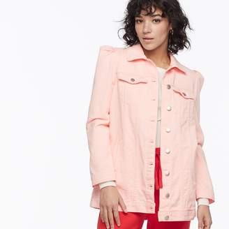 K Lab k/lab Puff Sleeve Denim Jacket