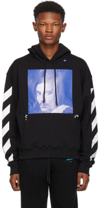 Off-White Black Diagonal Bernini Over Hoodie