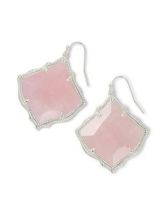 Kendra Scott Kirsten Drop Earrings in Silver
