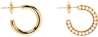 Melanie Georgacopoulos Gold Essence Hoop Earrings