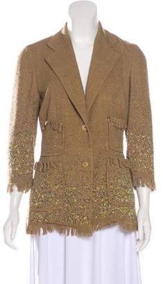 Paul Smith Embellished Silk Jacket