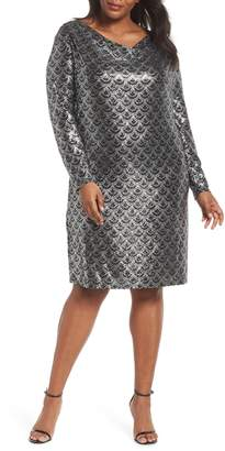 MICHAEL Michael Kors Glitter Knit Shift Dress