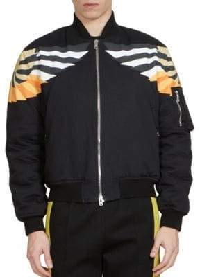 Givenchy Wings Print Bomber Jacket