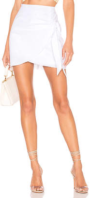 superdown Aaliyah Wrap Mini Skirt