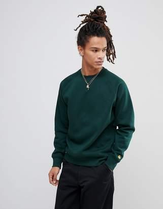 Carhartt WIP Chase Sweatshirt In Green