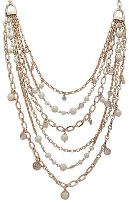 "Ralph Lauren Crest Multi Row Necklace, 18"""