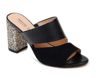 Badgley Mischka AMERICAN GLAMOUR American Glamour Womens Brooke Pumps Slip-on Round Toe Block Heel