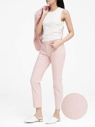 Banana Republic Petite Sloan Skinny-Fit Stripe Pant