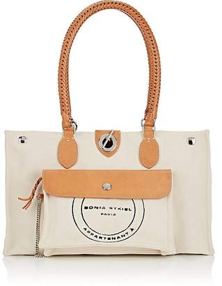 Sonia Rykiel Women's Oyster Maxi Canvas Tote Bag