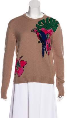 Valentino Long Sleeve Cashmere Sweater