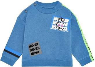 Burberry Graffiti Graphic Sweatshirt