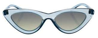 Le Specs Adam Selman x The Last Lolita Cat-Eye Sunglasses