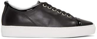 Lanvin Black Leather Sneakers