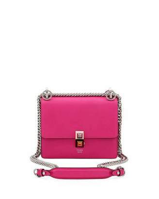 Fendi Kan I Mini Studded Shoulder Bag