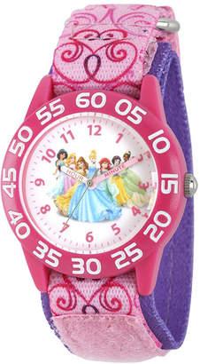 Disney Princess Girls Pink Strap Watch