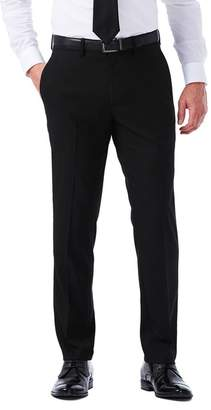 "Haggar Sharkskin Stretch Slim Fit Flat Front Suit Separate Pants - 30-34"" Inseam"
