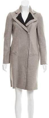 Helmut Lang Knee-Length Wool Coat