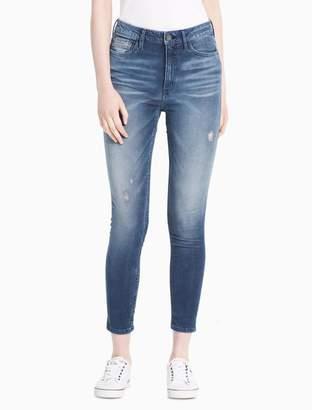 Calvin Klein slim boyfriend fit light wash jeans