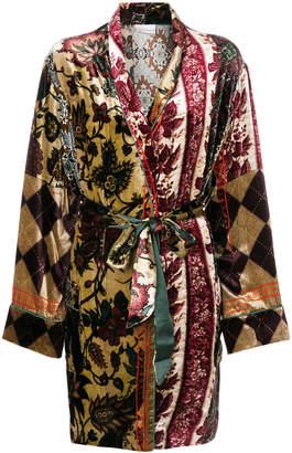 Pierre Louis Mascia Pierre-Louis Mascia belted robe