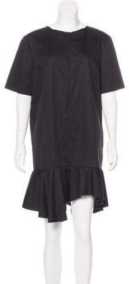 Ter Et Bantine Drop Waist Short Sleeve Dress