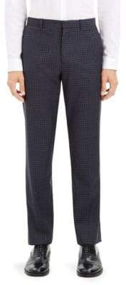 Theory Mayer Sartorial Check Pants