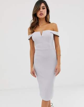 AX Paris bardot bodycon dress