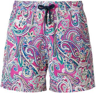 Etro Bañador paisley swimming shorts