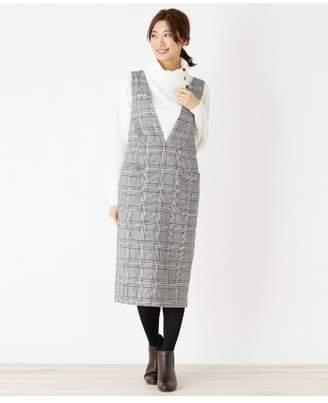 HusHusH (ハッシュアッシュ) - Ladies ツイルジャンパースカート