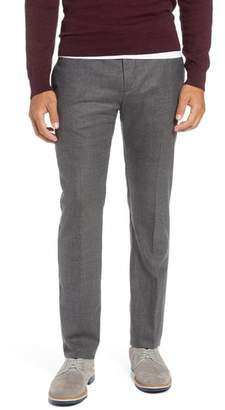 1901 Flat Front Melange Wool Extra Trim Fit Trousers
