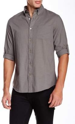 John Varvatos Collection Long Sleeve Roll Up Slim Fit Shirt