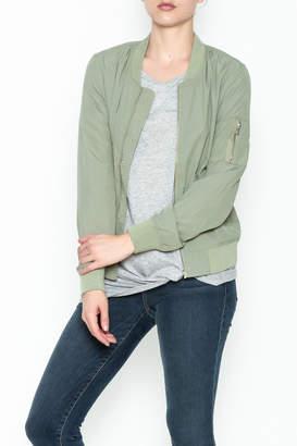 Love Tree Lightweight Olive Jacket