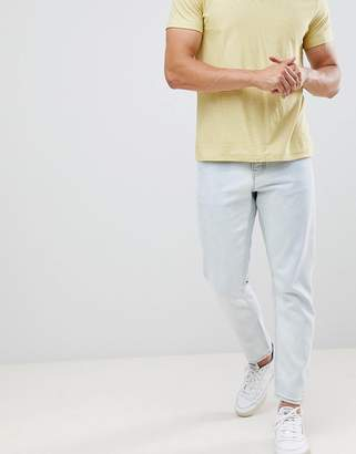 New Look slim cropped jeans in bleach wash
