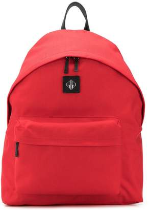 Golden Goose The logo patch backpack